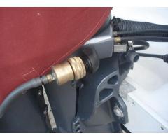 Motor flush system