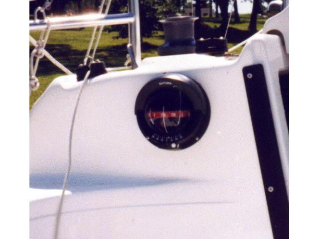 Compass in Cockpit