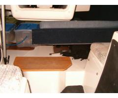 Aft Berth Raised Storage