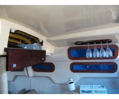 Storage Access & Wine Glass Rack