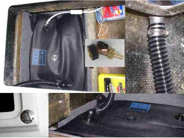 Water Tank - Under Cooler