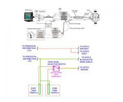 Fuel Level Sensor & Fuel Flow Rate with GARMIN 540S