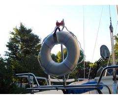 "19"" Ring Buoy with mount"