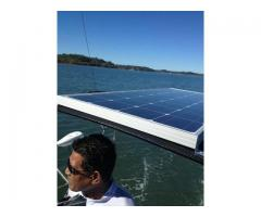 New Bimini with Solar panel