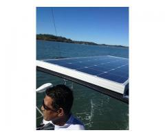 New Bimini with Solar panel