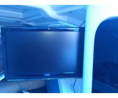 LED HD 19 inch TV with DVD and 12v DC plug