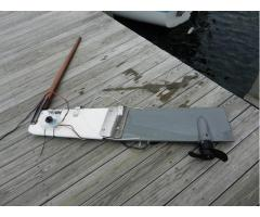 Electric Drive Kick-up Rudder