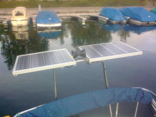 easy Solar Panel fixation on Arch