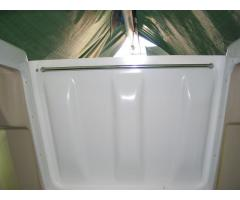 Internal handle hatch washboard