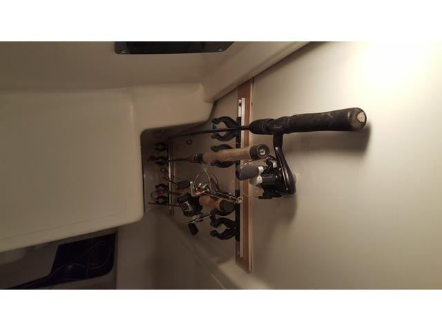 Fishing Rod Rack, No Holes in the Boat