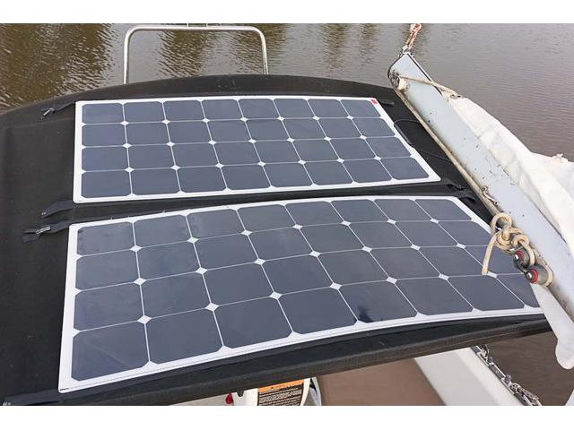 Zip-on Solar Panels.