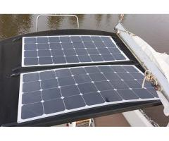 Zip-on Solar Panels.