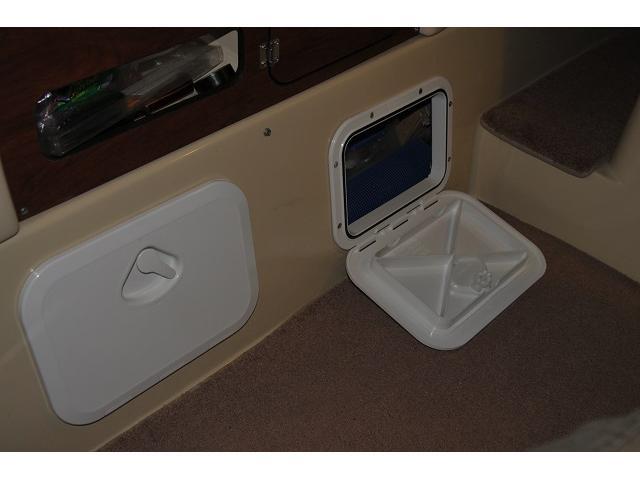 Access hatch under galley