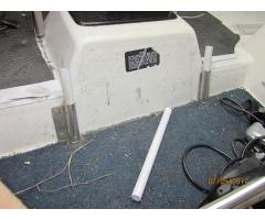 Removable companionway stairs - simple method