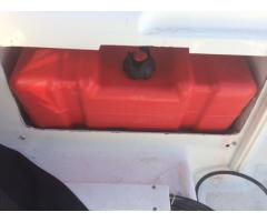 Install 12 gallon Gas tank for extended range