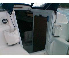 Stern anchor and fabric box/bag for halyard