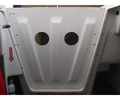 Inside view of door