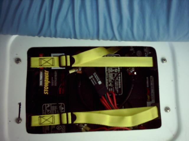 Dual Batteries Under V-Berth