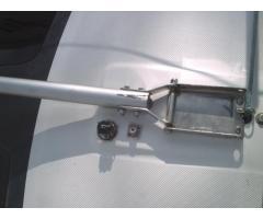 Anchor light and VHF antenns