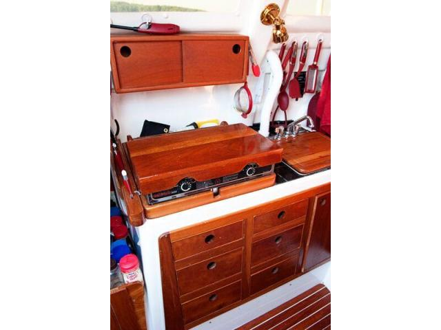 Cherry wood Galley