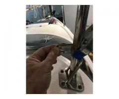 Correct Mast Raising Stay Design