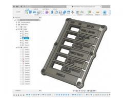 3D Printed West Marine Panel od