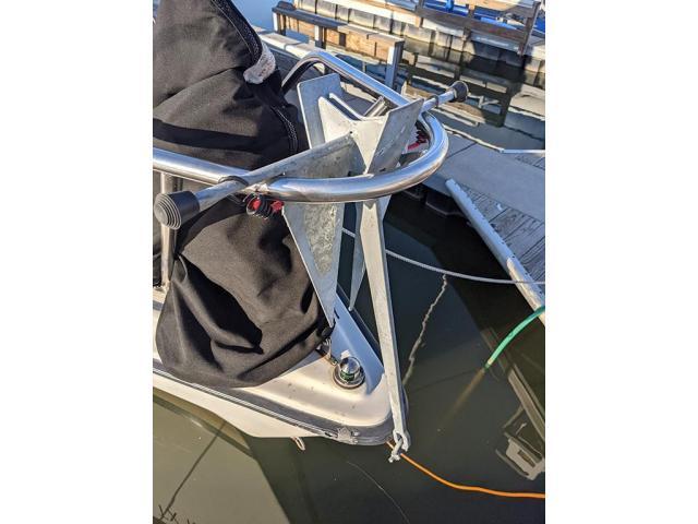 Handy temporary anchor mount