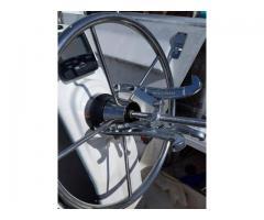 Replace stuck steering wheel and Steering Brake